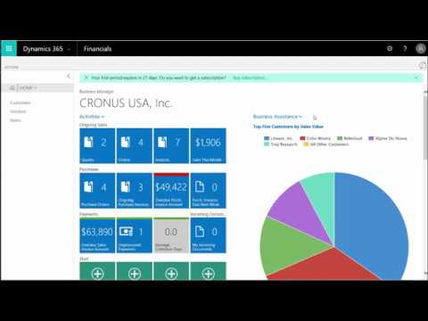 Microsoft Dynamics 365 for Financials: Training: User and Security Setup 101