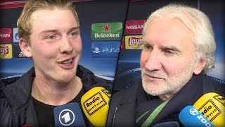 Brandt & Völler freuen sich über Sieg gegen Monaco