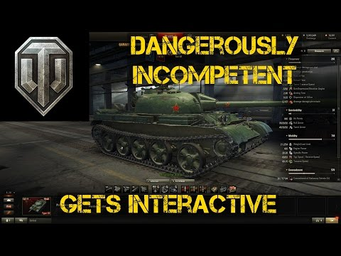 Wot Dangerously Incompetent gets interactive