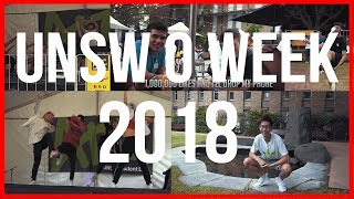 MY FIRST WEEK IN UNIVERSITY!! | UNSW O WEEK 2018 VLOG