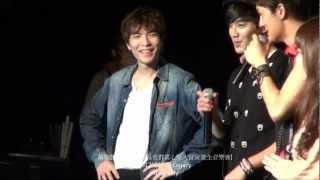 20121017 蕭敬騰 Jam Hsiao [爆米花好好吃 + 愛的抱抱] 吳克群慶生音樂會