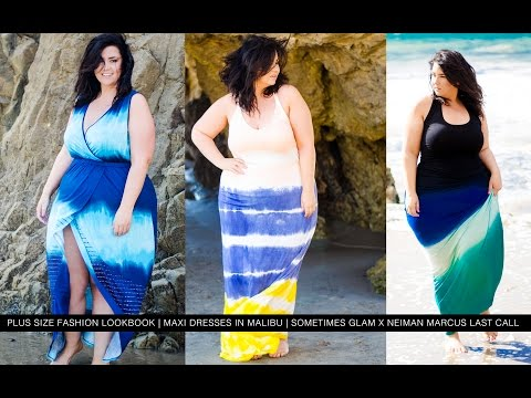 Plus Size Fashion Lookbook | MAXI DRESSES IN MALIBU |. http://bit.ly/2HOChP6