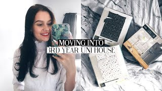 MOVING INTO MY 3RD YEAR UNI HOUSE! UNI WEEK IN MY LIFE | Caitlin Rose