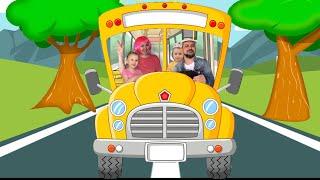 Wheels on the Bus | Nursery Rhymes & Kids Songs