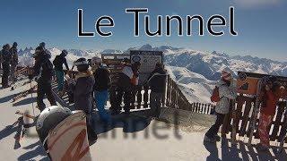 Le tunnel Alpe d