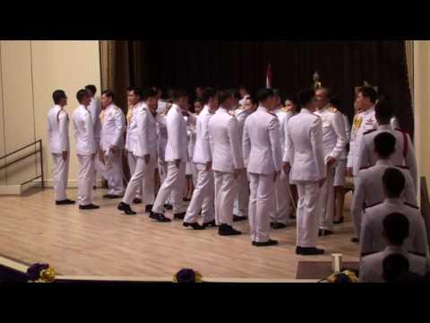 พิธีประดับเครื่องหมายยศนายทหารสัญญาบัตร ผู้สำเร็จการศึกษาจาก วพม 2559