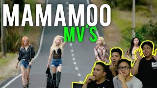 "MAMAMOO - ""Star Wind Flower Sun + Starry Night (MV Reactions)"