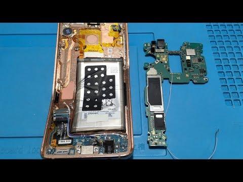 Samsung S9 Plus G965F не включается. Сохранение информации.