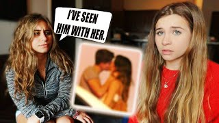Telling Twin Sister My Boyfriend is CHEATING on me... (GOT HER)