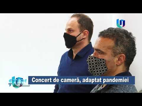 TeleU: Concert de cameră, adaptat pandemiei