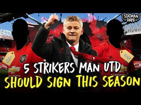 5 Strikers Manchester United Should Sign…