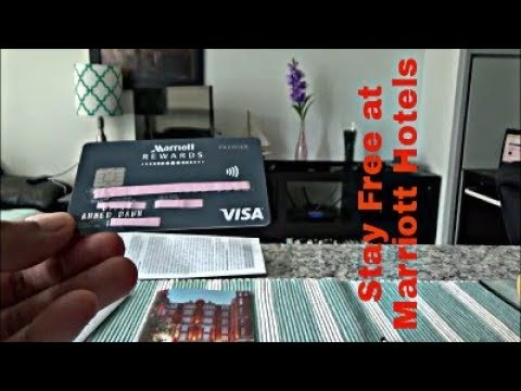 Marriott Rewards Premier Visa Credit Card Unboxing & Review