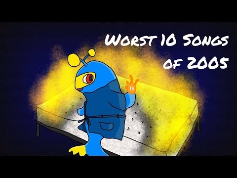 The Top Ten Worst Hit Songs of 2005 (ft. InTheFurnace)