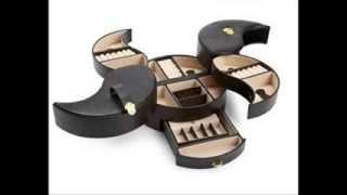 Wolf Designs 280702 Heritage Large Black Ying Yang Jewelry Box ; Wolf Designs Jewelry Box