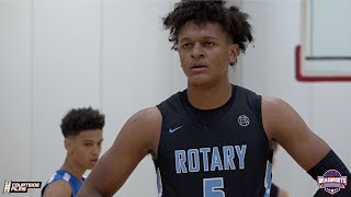 Duke Commit Paolo Banchero is a GROWN MAN! Highlights from the Grassroots Showcase!