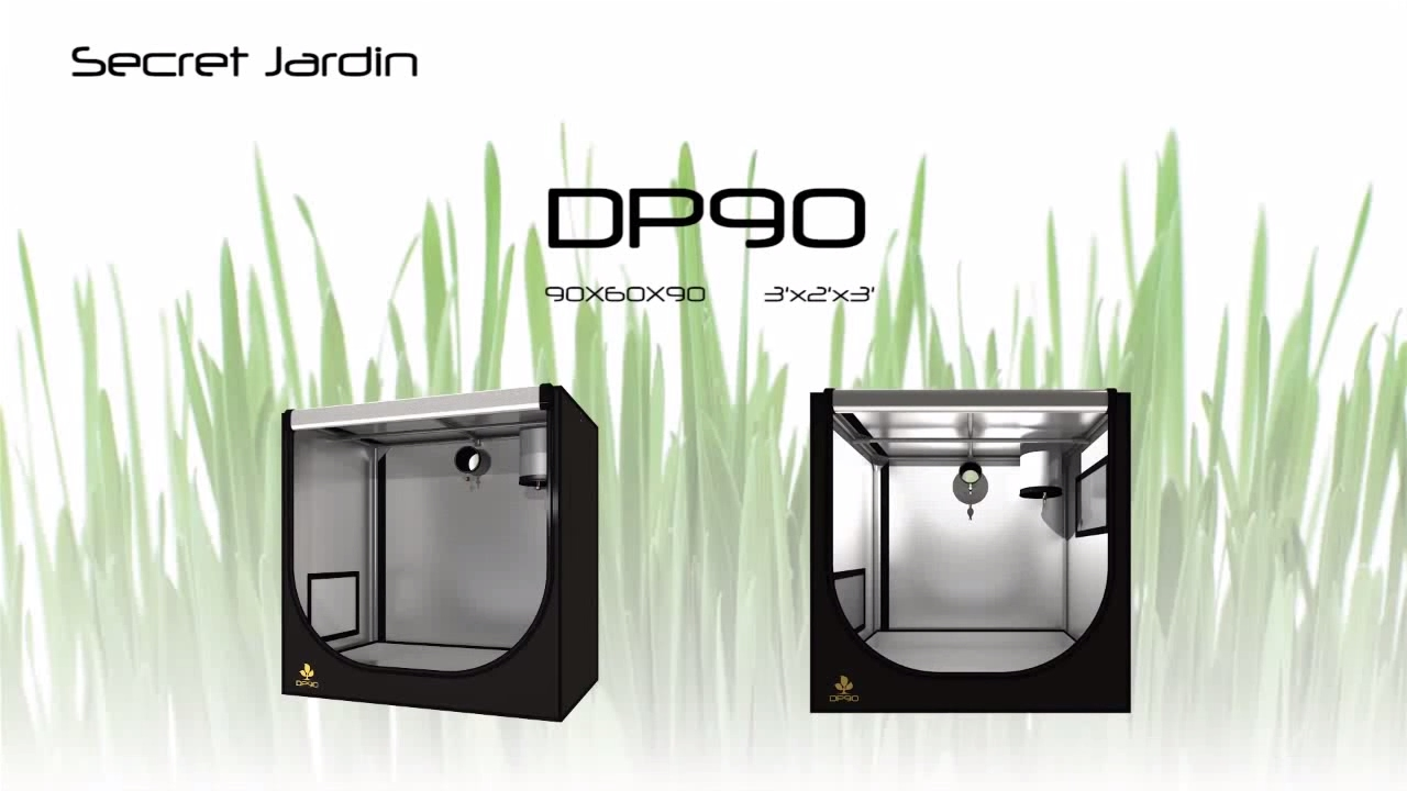 How to set up Secret Jardin grow tent DP90 | Product Tutorial  sc 1 st  YouTube & How to set up Secret Jardin grow tent DP90 | Product Tutorial ...
