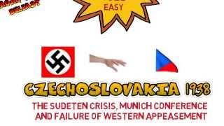 3 NAZI FOREIGN POLICY Czechoslovakia Sudeten crisi and Munich