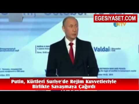 Putin'den Kürtlere Çok Kritik Çağrı