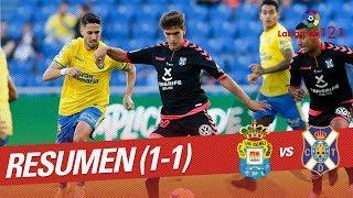 Resumen de UD Las Palmas vs CD Tenerife (1-1)