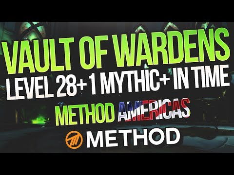 LVL 28+1 MYTHIC+ Vault of the Wardens Global MDI Practice - Method - JdotB Resto Druid POV