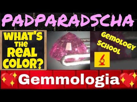 Padparadscha - Gemstones and Gemology Course