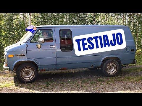 Chevy Van 6.2 D - Käynnistys Ja Testiajo