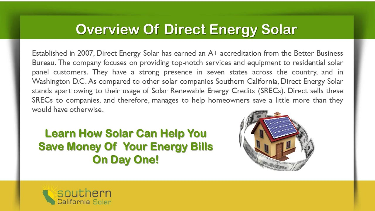 Direct Energy Solar Customer Reviews - The Right Choice of Guide
