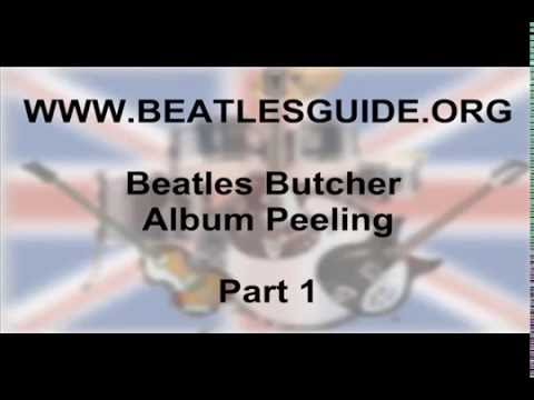 Peeling Of Beatles Butcher Album Jacket Cover Part 1 Youtube