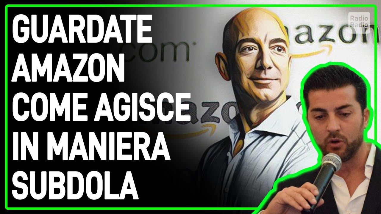 SVELATA LA TRAPPOLA DI AMAZON: PRIMA TI ATTIRANO SUL SITO, POI TI VENDONO QUELLO CHE VOGLIONO LORO