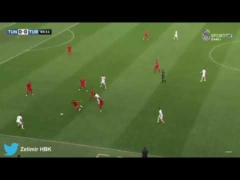 Tunus-Türkiye olaylı maç.