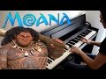 Disney S MOANA You Re Welcome Piano Cover mp3