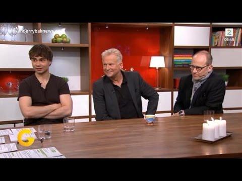 Alexander Rybak, Dennis Storhøi and Samuel Fröler  God Morgen Norge  22.06.15