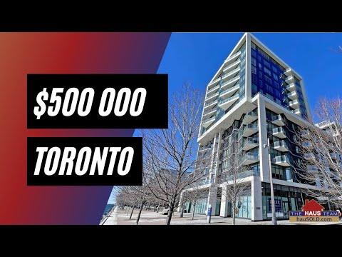 INSANE Toronto Water Front Condo! | 55 Merchants' Wharf