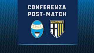 Il post partita di SPAL - Parma