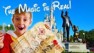 Following The Clues! Treasure Hunt At Disneyland! Disney Magic Is Real!