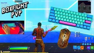 Ducky Mecha Frozen Llama ASMR Chill🤩Satisfying Gameplay Keyboard Fortnite 240 FPS Smooth 4K