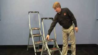 GXE Little Giant Safety Step Ladder Model DEMO