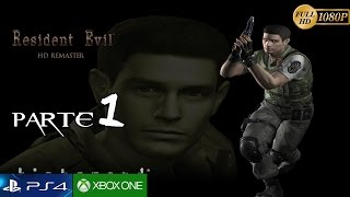 Resident Evil HD Remaster Español Parte 1 Gameplay | Remake Prologo Chris Redfied  Guia PC 1080p
