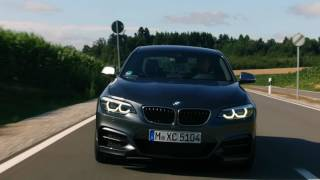 2018 BMW M240i Coupe driving scenes