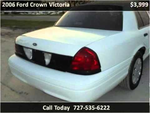 2006 Ford Crown Victoria Used Cars New Port Richey FL
