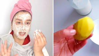 Mascarilla para blanquear la piel, aclarar las manchas y eliminar las arrugas.