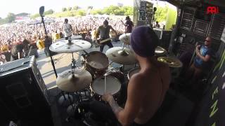"Luke Holland The Word Alive ""Play the Victim"" Live"