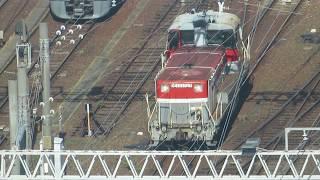 JR貨物 DE101727(国鉄DD51形ディーゼル機関車) 愛知機関区 名古屋駅付近で撮影 2018.11.10
