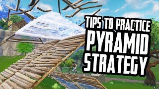 Easy way to practice the Pyramid strategy [Fortnite Tips]