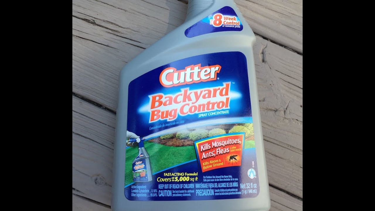Cutter Backyard Bug Control Review☆ Does Cutter Bug Control Work? - Cutter Backyard Bug Control Review☆ Does Cutter Bug Control Work