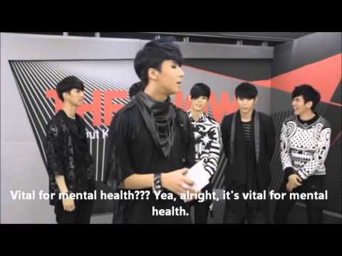ENG SUB VIXX  (SBS MTV THE SHOW) 60 Sec Interview 120313