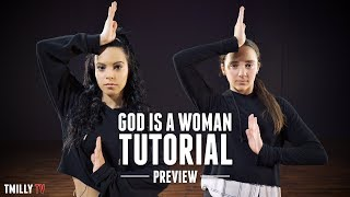 Ariana Grande -  God is a woman - Dance Tutorial by Jojo Gomez ft Kaycee Rice [PREVIEW]