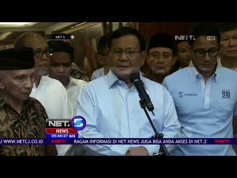 Paslon Prabowo Sandi Mengaku Kecewa Dengan Ratna dan Meninta Maaf Kepada Masyarakat  - NET 5