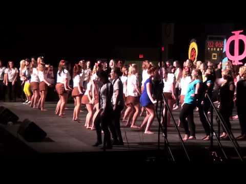 PHI MU  GREEK SING 2013 University of Kentucky