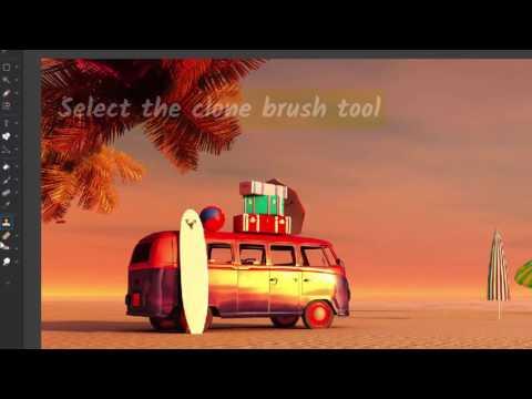 Photo Pos Pro V3: Clone Brush